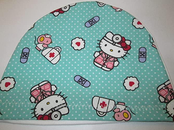 de4406337 Image Unavailable. Image not available for. Color: Children's Kids Doctor Hello  Kitty Chemo Hat Alopecia Head Cover Cancer Scarf