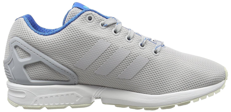 Adidas ZX Flux, Alpargatas para Hombre, Gris (Light Solid Grey/Shock Blue/Blue Glowlight Solid Grey/Shock Blue/Blue Glow), 40 EU