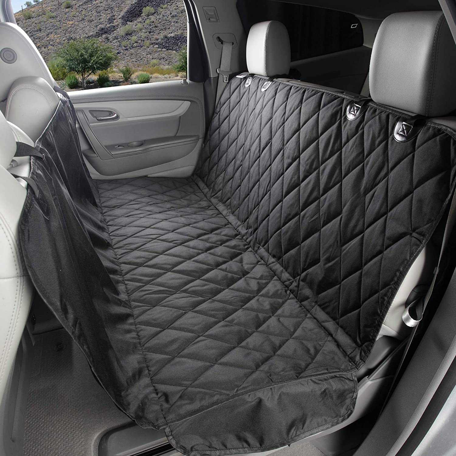 BMW 1 SERIES ALL YEARS 2 x Fronts Heavy Duty Black Waterproof Car Seat Covers