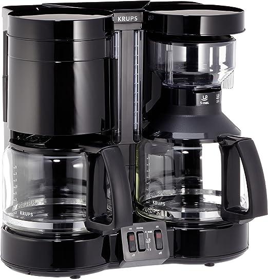 Krups F46442 SW Duothek Plus - Cafetera eléctrica doble: Amazon.es ...