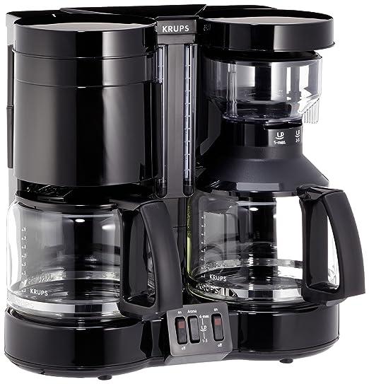 Krups F46442 SW Duothek Plus - Cafetera eléctrica doble ...