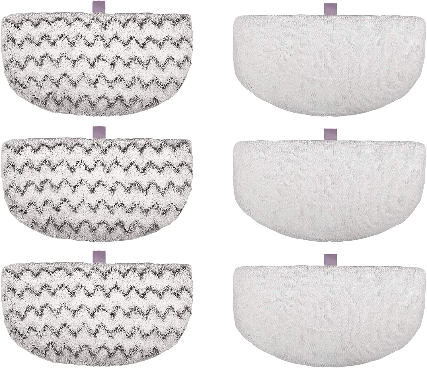 F Flammi 4-6 Pack Bissell Steam Mop Pads Replacement for Powerfresh Steam Mop 1940 1440 1544 Series, Model 19402 19404 19408 1940A 1940Q 1940T 1940W (6 Pack)
