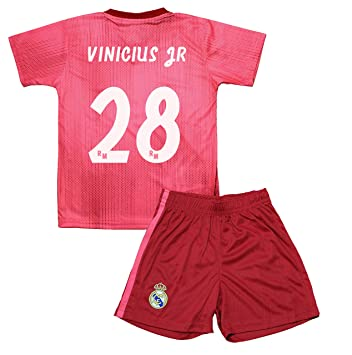 Real Madrid Kit Tercera Equipación Infantil Vinicius Junior ...