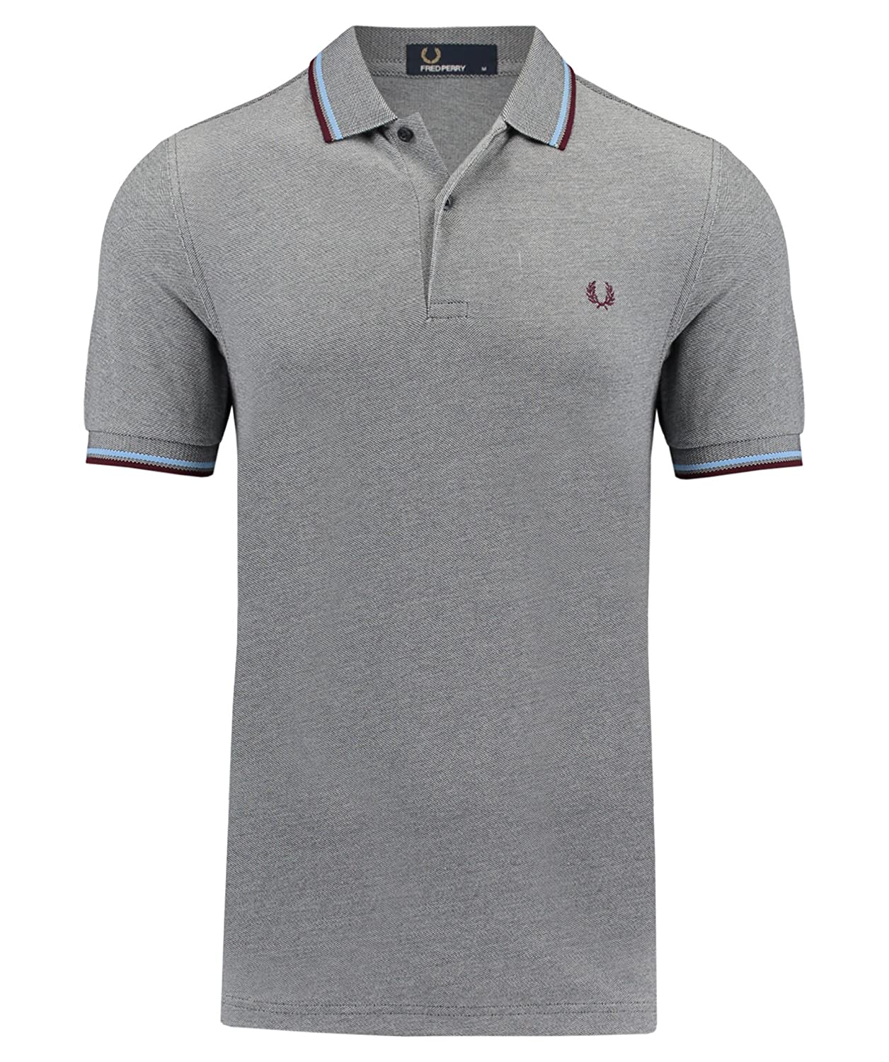 4ca9ea06 Amazon.com: Fred Perry Men's Twin Tipped Polo Shirt: Clothing