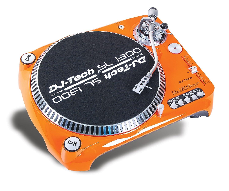 Wonderful Amazon.com: Dj Tech SL1300MK6USB ORA Direct Drive DJ Turntable, Orange:  Musical Instruments