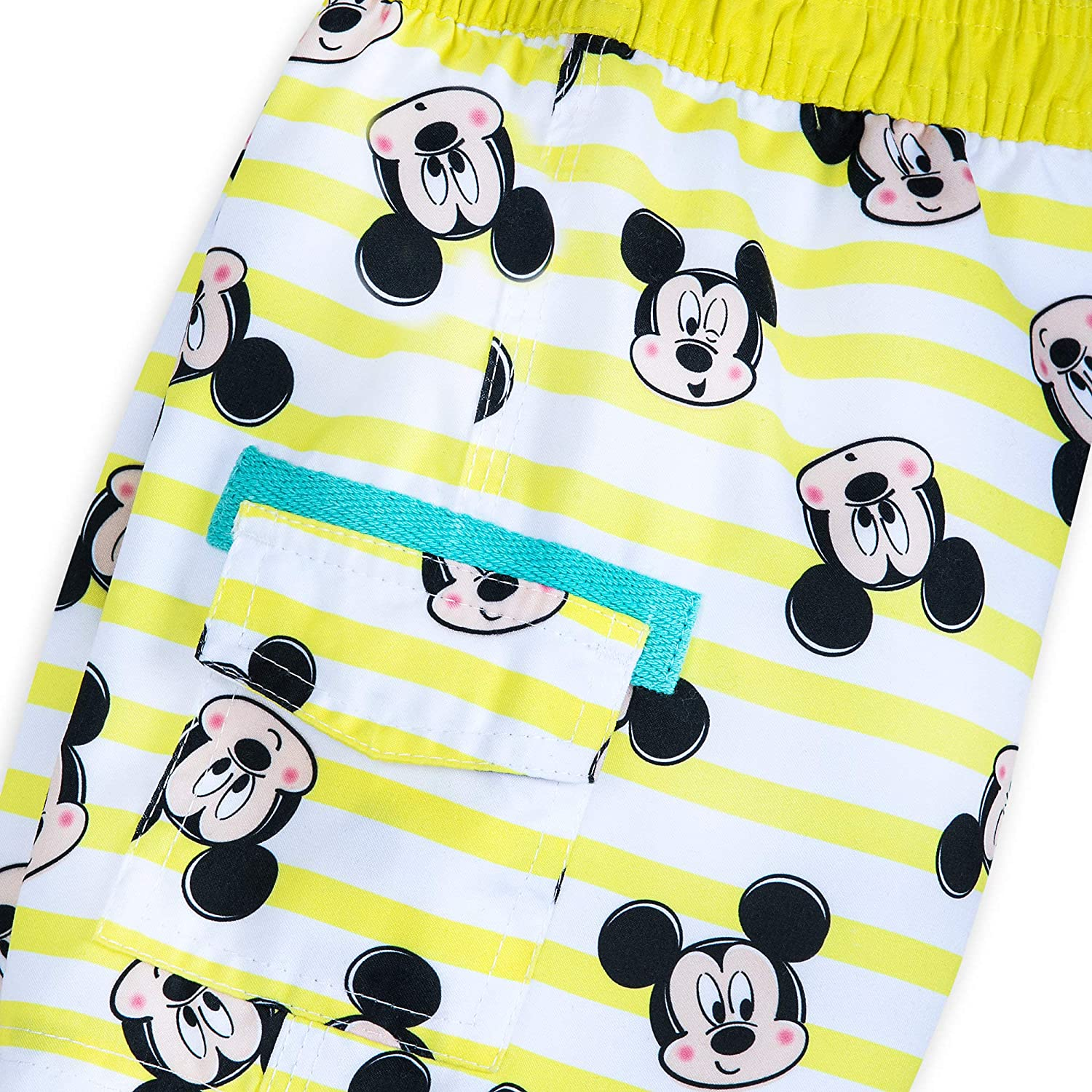Disney Mickey Mouse Striped Swim Trunks for Baby Size 9-12 MO Multi