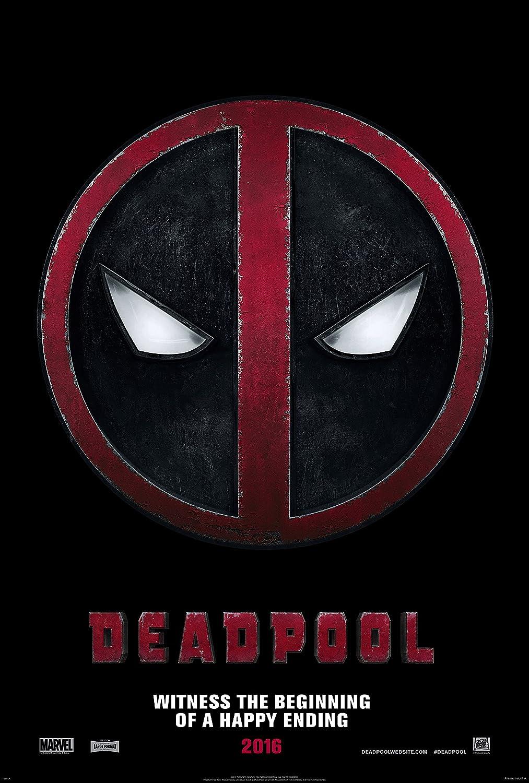 "Amazon.com: WMG Deadpool - Movie Poster (24"" x 36"") Glossy Finish ..."