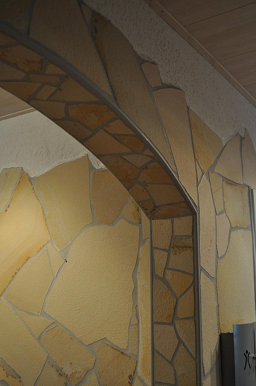 Solnhofener Naturstein Polygonalplatten Mustersendung 17 mm