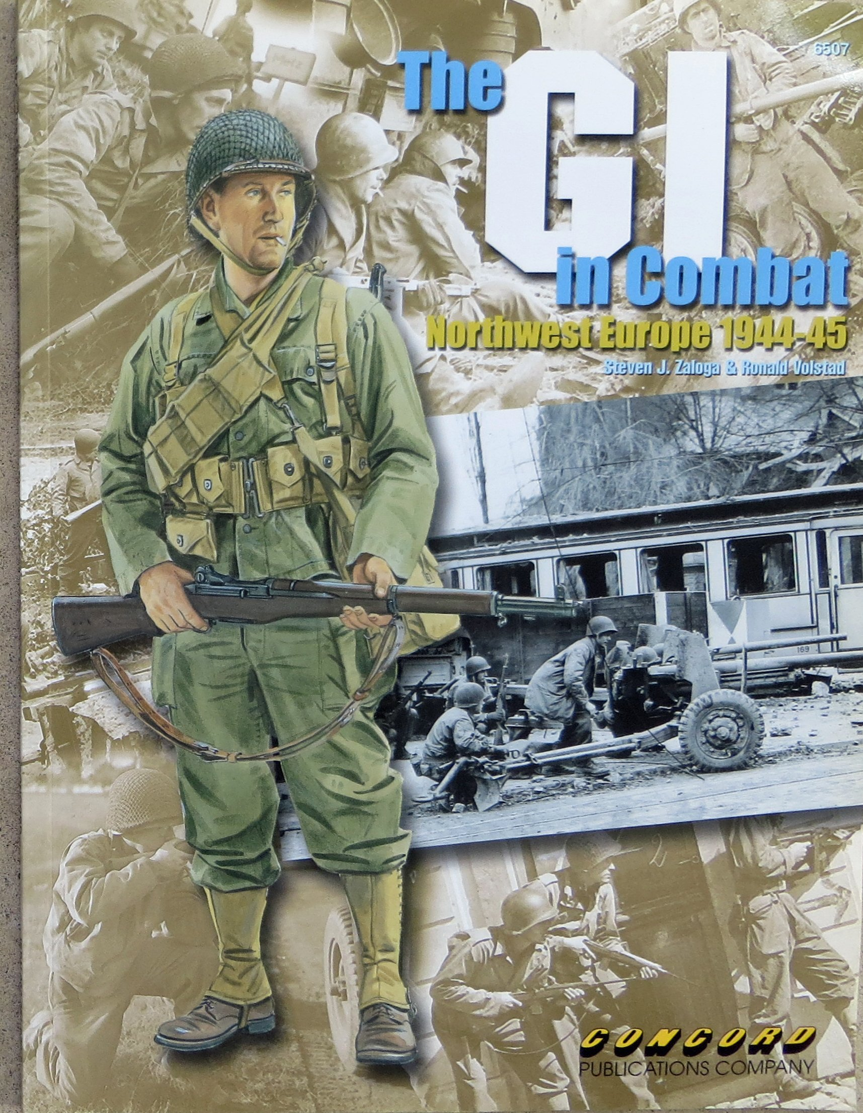 The Gi in Combat: Northwest Europe 1944-45 Warrior S.: Amazon ...