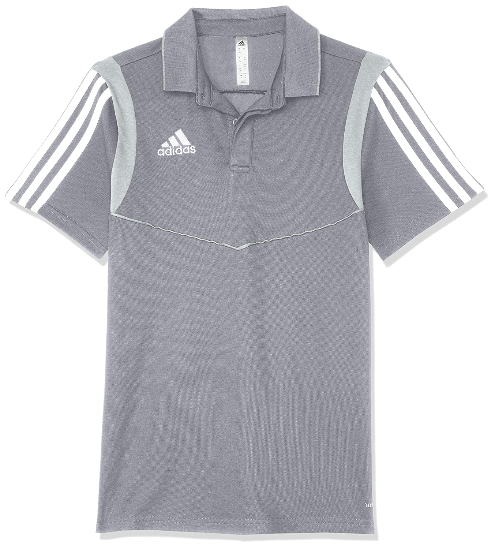 Grey white 164 adidas Australia Kids Tiro 19 Polo Shirt