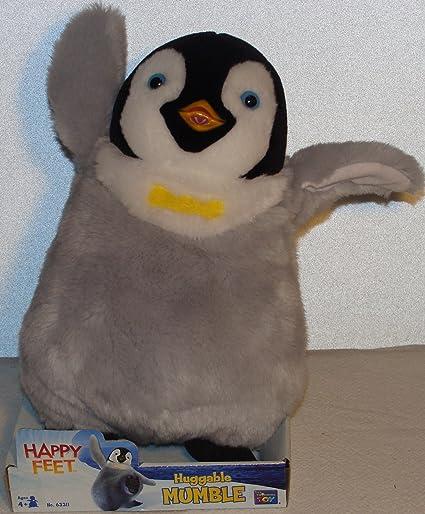 Amazon Com Happy Feet Huggable Mumble Toys Games