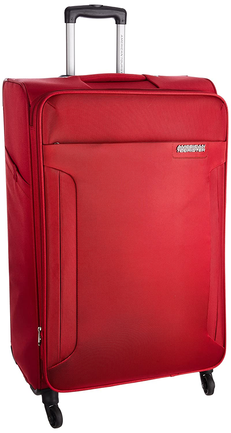 American Tourister Polyester 56 cms Ruby Red Carry-On (AMT