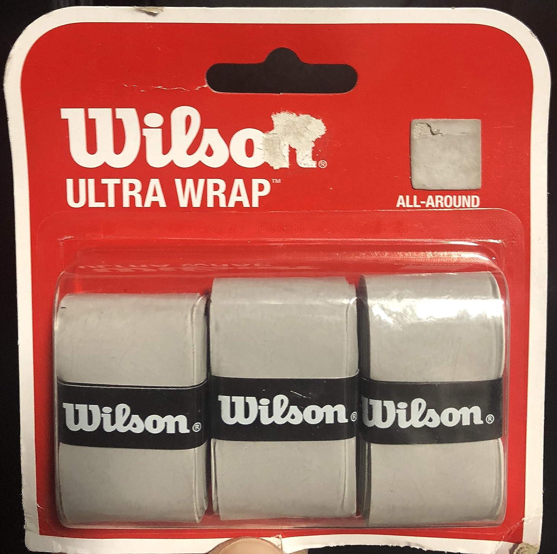 Wilson Wilson ウルトララケット B00OGKNW6Y オーバーグリップ グレー グレー B00OGKNW6Y, 岩舟町:33d00a33 --- rigg.is