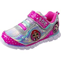 L.O.L. Surprise! Shoes, Light Up Sneaker and Athletic Tennis Shoes with Strap, MC Swag and Rocker, Little Girl/Big Girl…