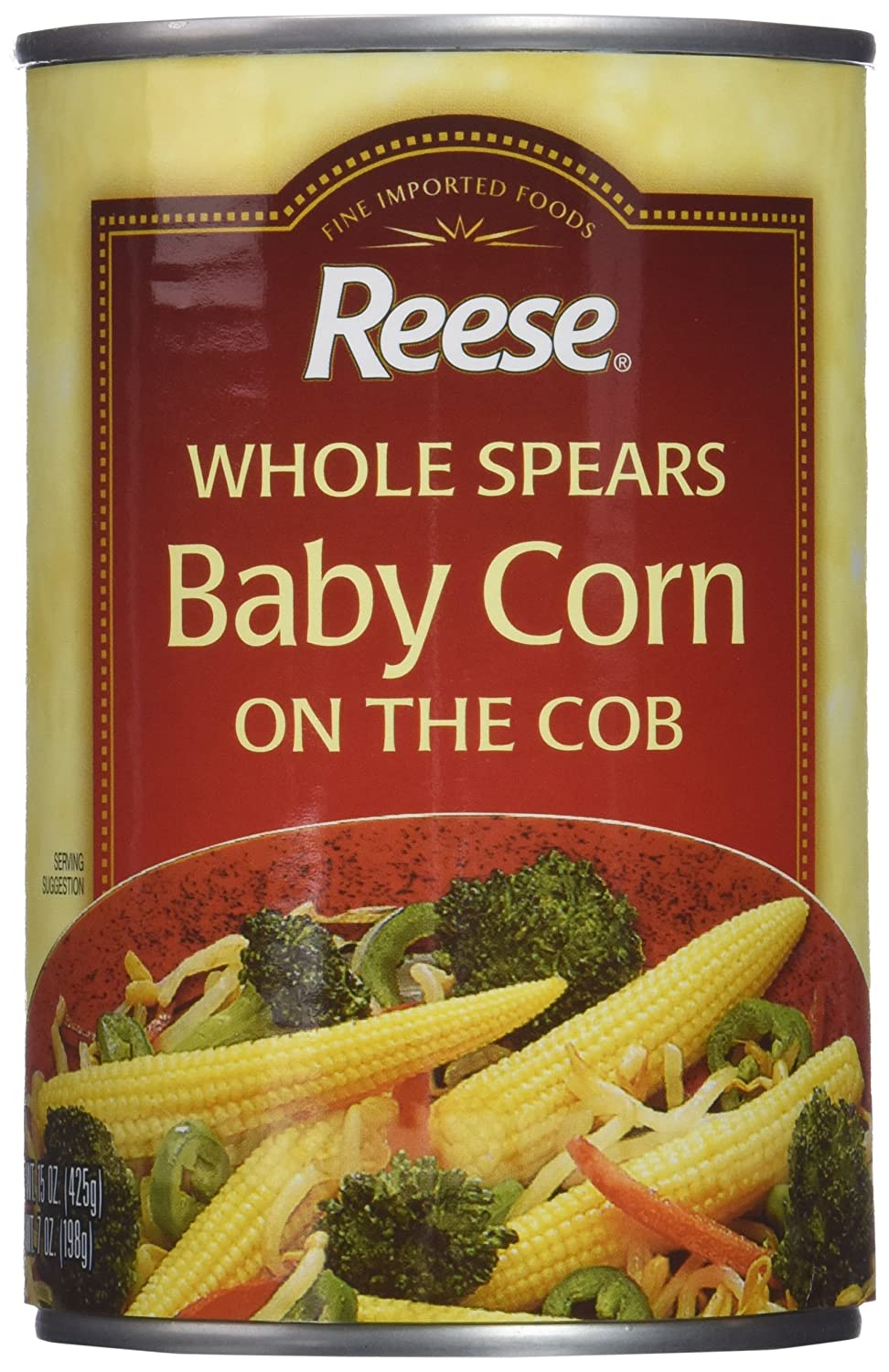 Reese Baby Corn/Tin, 15-ounces (Pack of12)