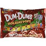 Dum-Dums Holiday Pops, 44 Pops; 8 Flavors: Sugar Cookie, Gingerbread, Apple Cider, etc.
