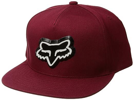 premium selection 10f45 aa4d3 Fox Men s Ingratiate Snapback Hat, Dark Red, ...