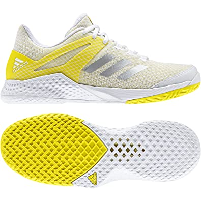 low cost 5d66b 58c21 adidas Adizero Club W, Sneakers Femme - différents Coloris - Multicolore  (Ftwbla Plamet