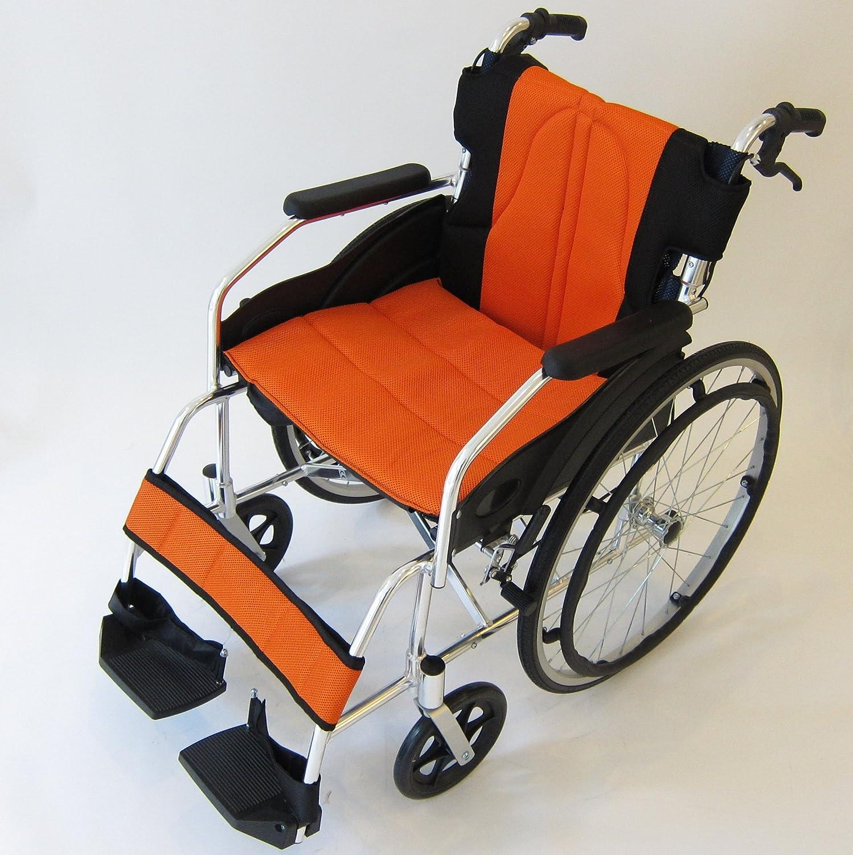 カドクラ kadokura 自走用車椅子 チャップスDB サンセットオレンジA101-DBAO B00JOZS306