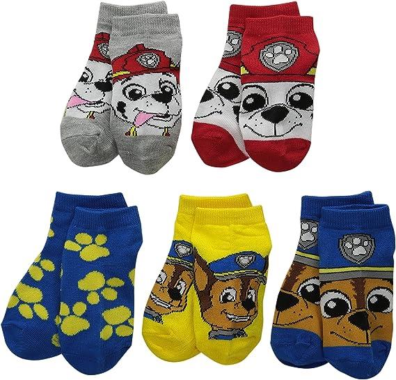 Paw Patrol Boys' Nickelodeon Boys 5Pk Shorty Socks