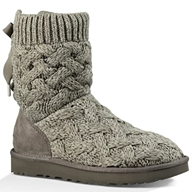 UGG Womens Isla Boot Heathered Charcoal Size 5
