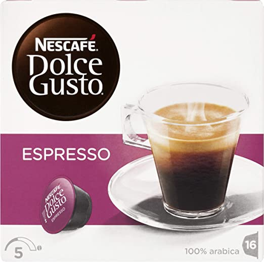 NESCAFÉ Dolce Gusto Espresso   Cápsulas de Café - 16 cápsulas de ...