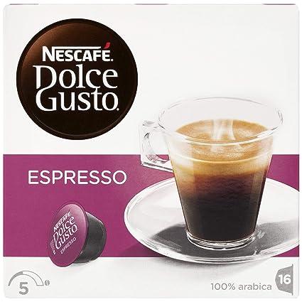 NESCAFÉ Dolce Gusto Espresso   Cápsulas de Café - 16 cápsulas de café