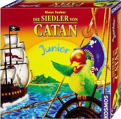 KOSMOS 696108 Die Siedler Von Catan Junior - Juego de Mesa [Importado de Alemania]: Amazon.es: Juguetes y juegos