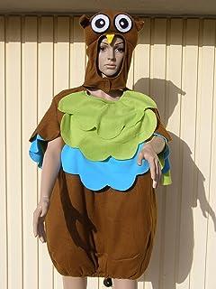 Eule Kinder Kostum 98 104 Fur Fasching Karneval Kinderkostum