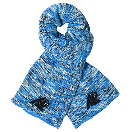 dbf6e62cc Amazon.com   Carolina Panthers Peak Scarf   Sports   Outdoors