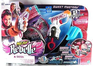Nerf Rebelle Sweet Misterio Secretos y espías código Rojo ...