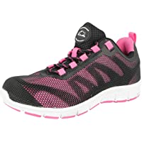 Zapatillas de seguridad de mujer Groundwork GR95, con puntera de acero, talla 36 a 41