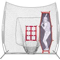 GoSports - Kit de Lanzamiento de béisbol y sóftbol | Práctica de precisión con Zona de Ataque y bateador de muñeco Xtraman