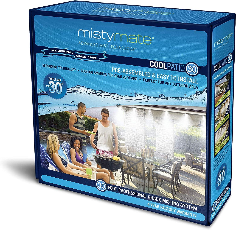 Amazon Com Mistymate 16030 Cool Patio 30 Outdoor Misting Kit Garden Outdoor