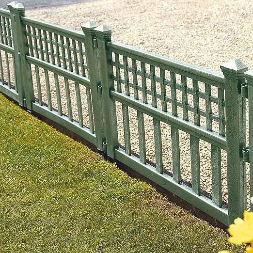 Recinzioni Plastica Per Giardino.Parkland Pannelli Di Recinzione In Plastica Per Giardini