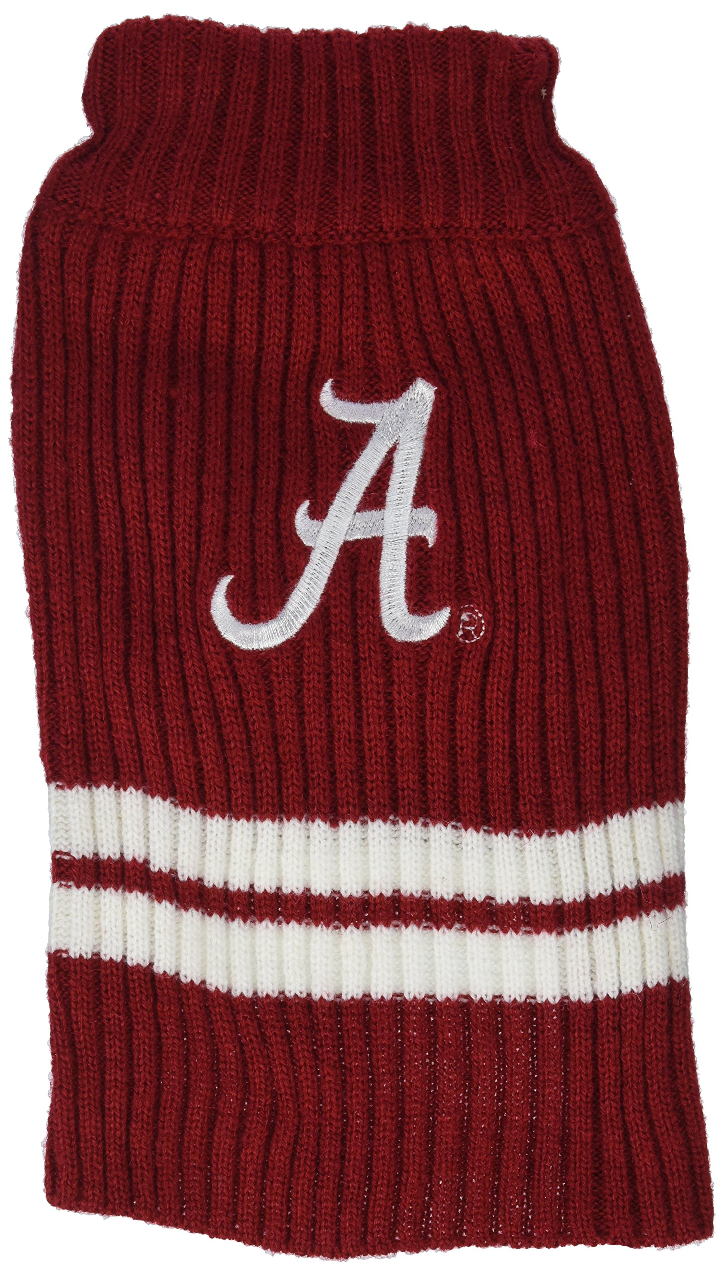 Pets First Collegiate Alabama Crimson Tide Dog Sweater, X-Small by Pets First