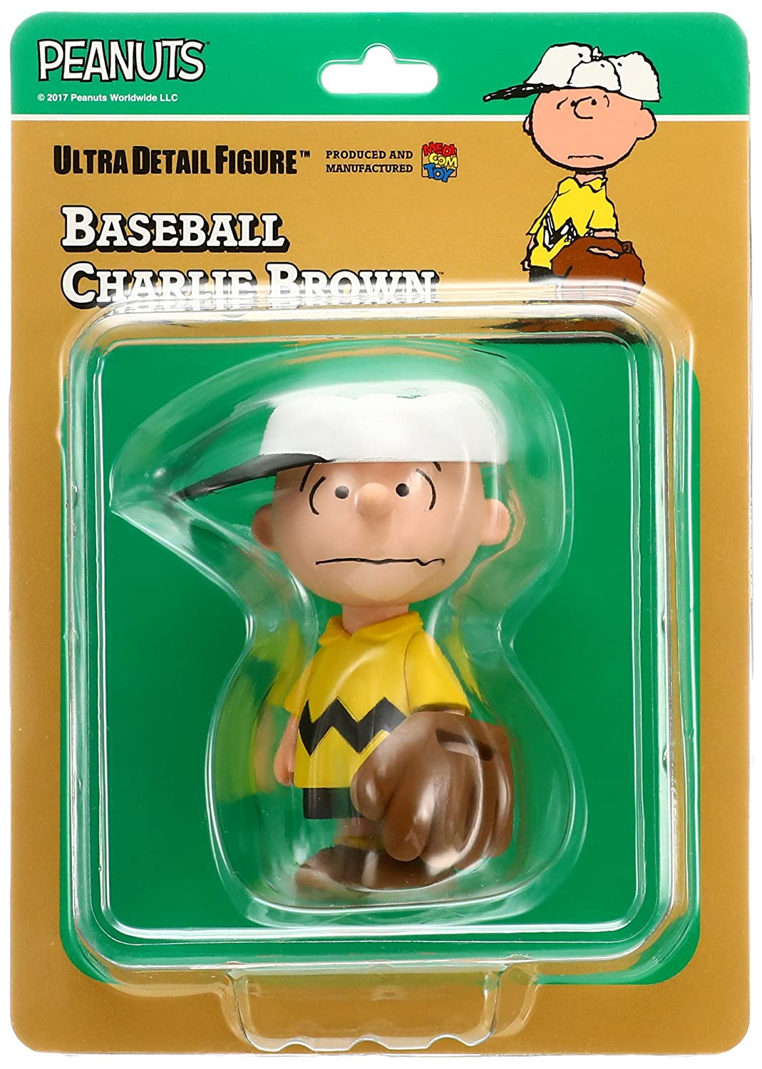 9fe1bf6975 Amazon.com  Medicom Peanuts Series 6  Baseball Charlie Brown UDF Action  Figure  Medicom  Toys   Games