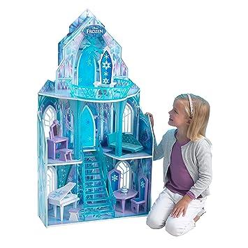 KidKraft 65881 Puppenhaus Disney Frozen Ice Castle, bunt: Amazon.de ...