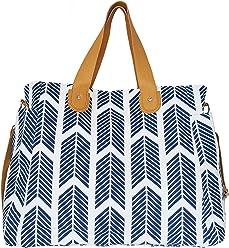 0c10633aa61d Arrows Weekender Bag by White Elm - Large Diaper Tote Bag