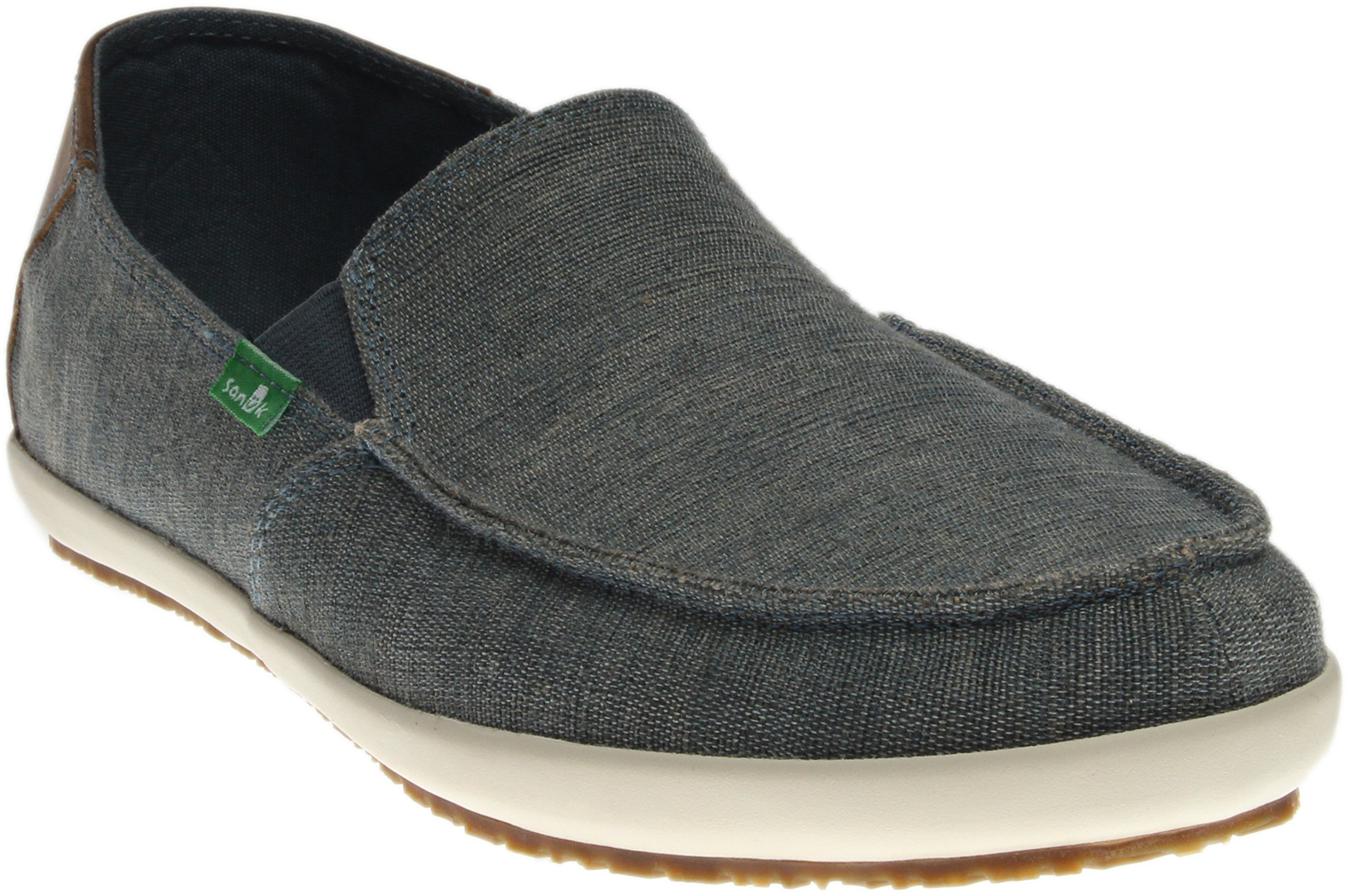 Sanuk Men's M Casa Vintage Slip-On Loafer, Blue, 10 M US