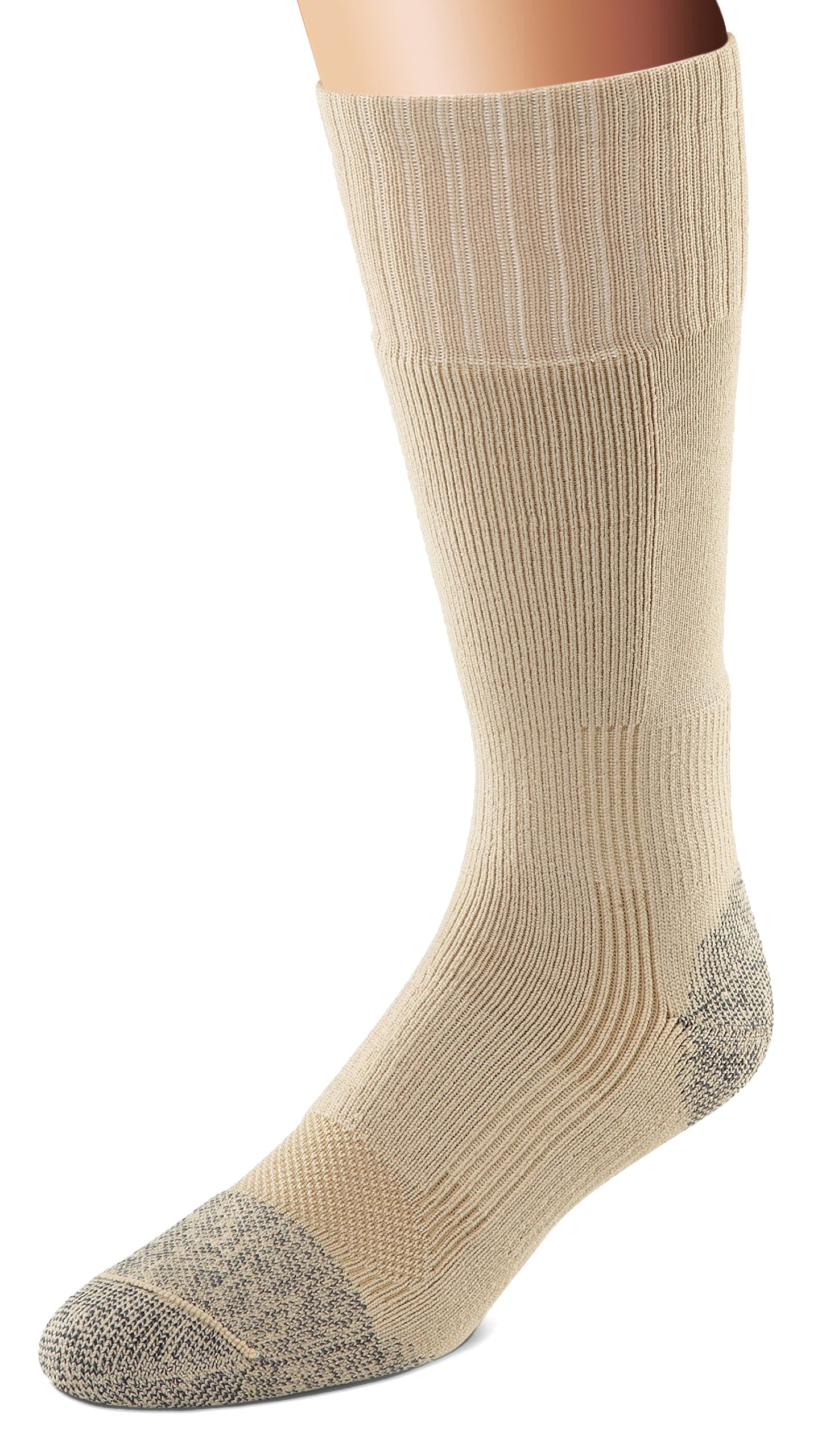 Fox River Military Wick Dry Maximum Mid Calf Boot Sock (XLarge/Beige) by FoxRiver