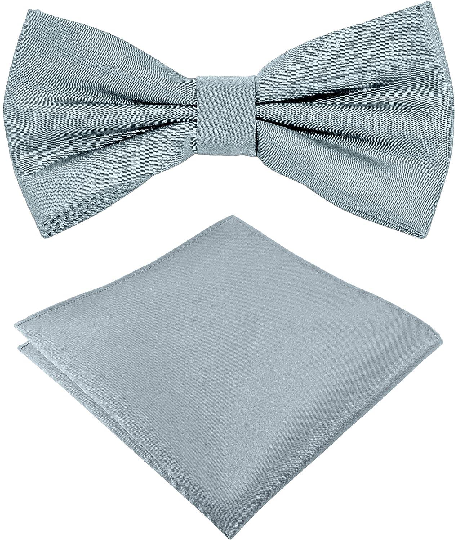 Helido Pajarita con pañuelo de bolsillo para Hombre + caja de ...