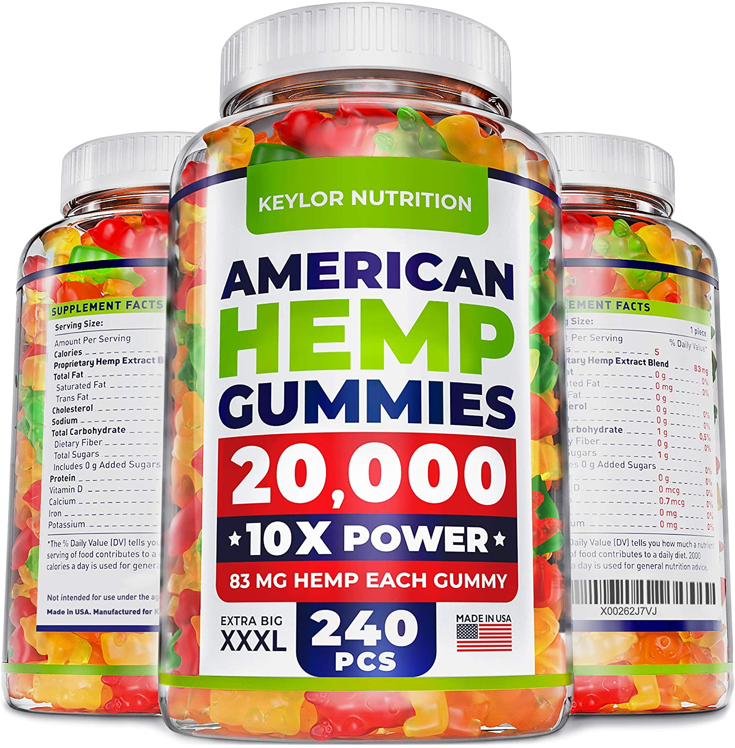 Top 10 Best Hemp Gummies On Amazon