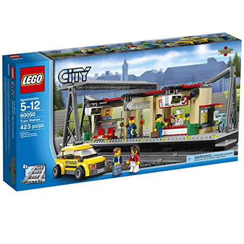 LEGO 乐高 城市系列60050 火车站