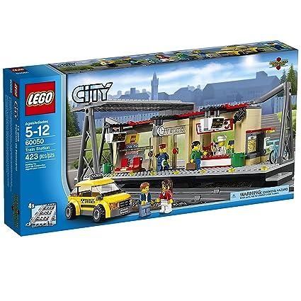 Amazon Lego City Trains Train Station 60050 Building Toy Toys