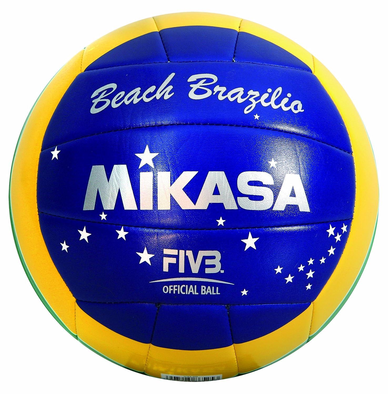 Mikasa Brazilio - Balón de voleibol, color verde, amarillo y azul ...