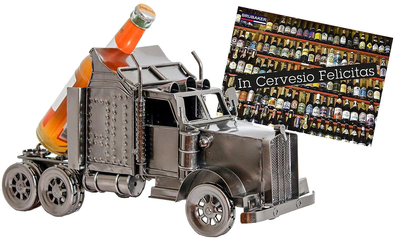 BRUBAKER portabottiglie dal design camion XXL che porta la birra