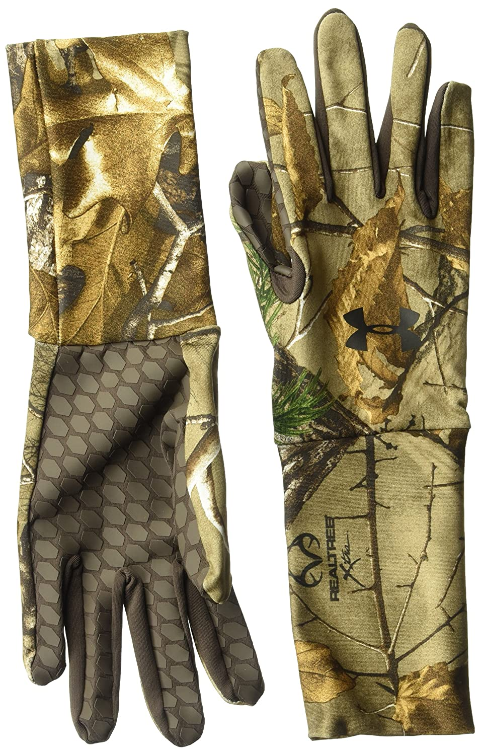 Under Armour Men's ColdGear Camo Liner Gloves Under Armour Accessories 1203060