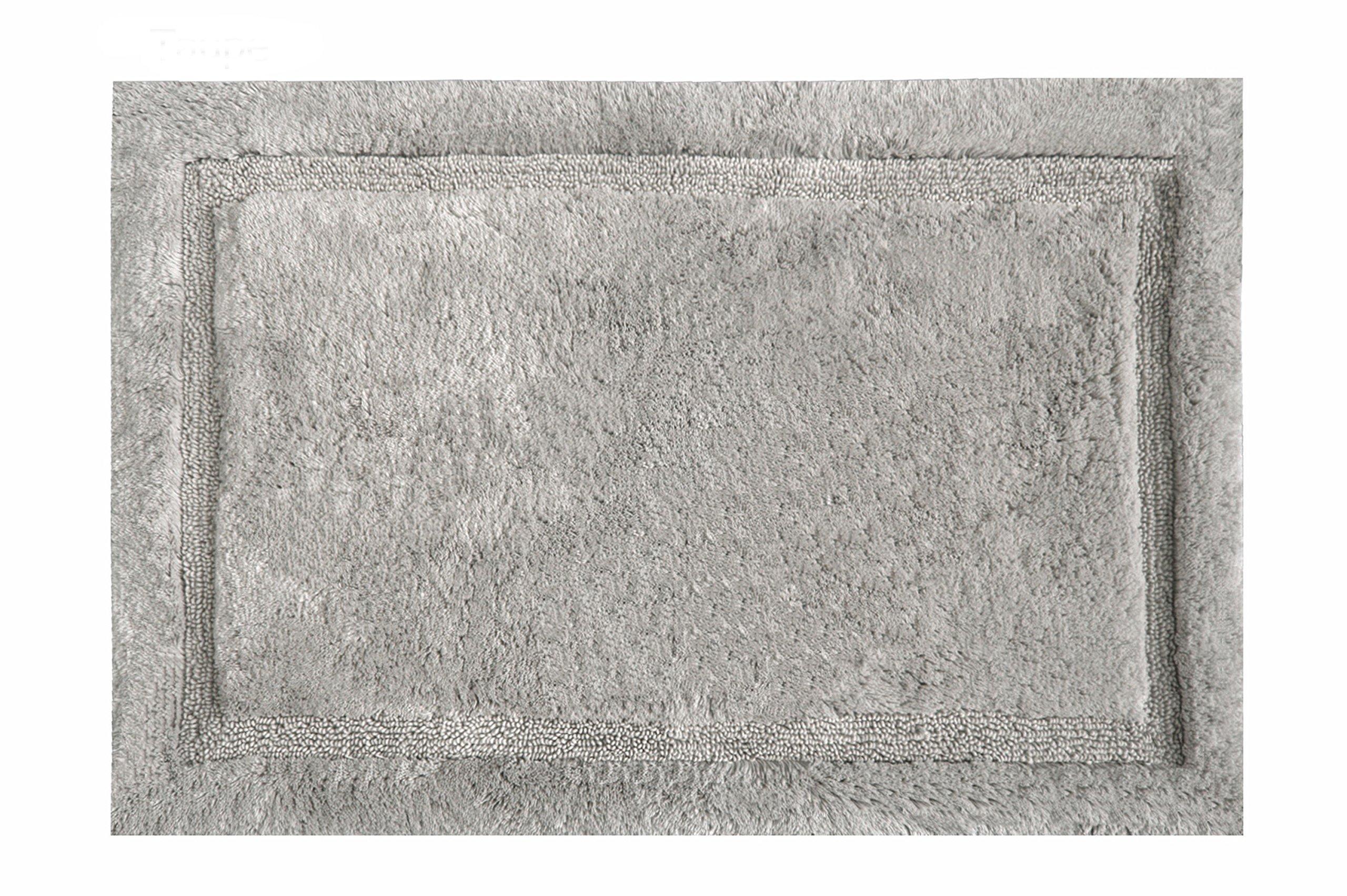 Grund Asheville Series 100% Organic Cotton Bath Rug, 24-Inch by 40-Inch, Taupe