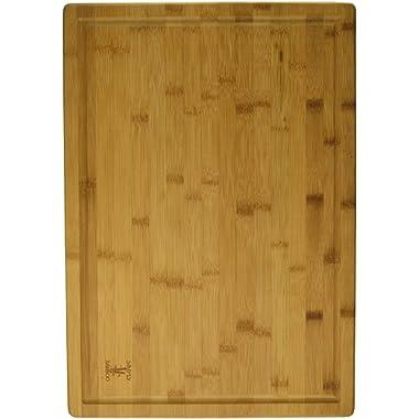 Simply Bamboo 20 X 14 Valencia Bamboo Cutting Board w/Juice Groove